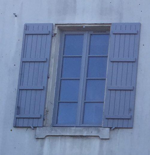 menuiserie bois et volet bois barres porte d 39 entr e sur mesure avec r adaption de grille. Black Bedroom Furniture Sets. Home Design Ideas