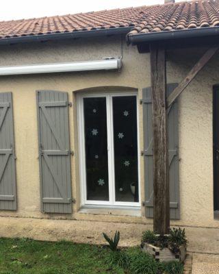 Porte-fenêtre PVC PIERRET NIORT