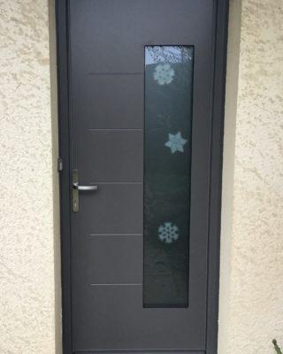 Porte d'entrée PVC PIERRET NIORT