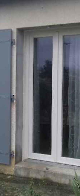 Porte-Fenêtre PVC PIERRET NIORT et volet battant alu