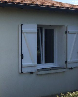 Fenêtre PVC Pierret Blanc 88mm