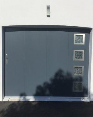 Porte de garage FAME ral 7016